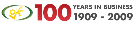 100 years in business heading